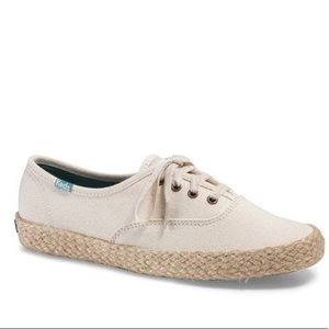 Cream colored Keds Espadrille Sneakers. Like NEW